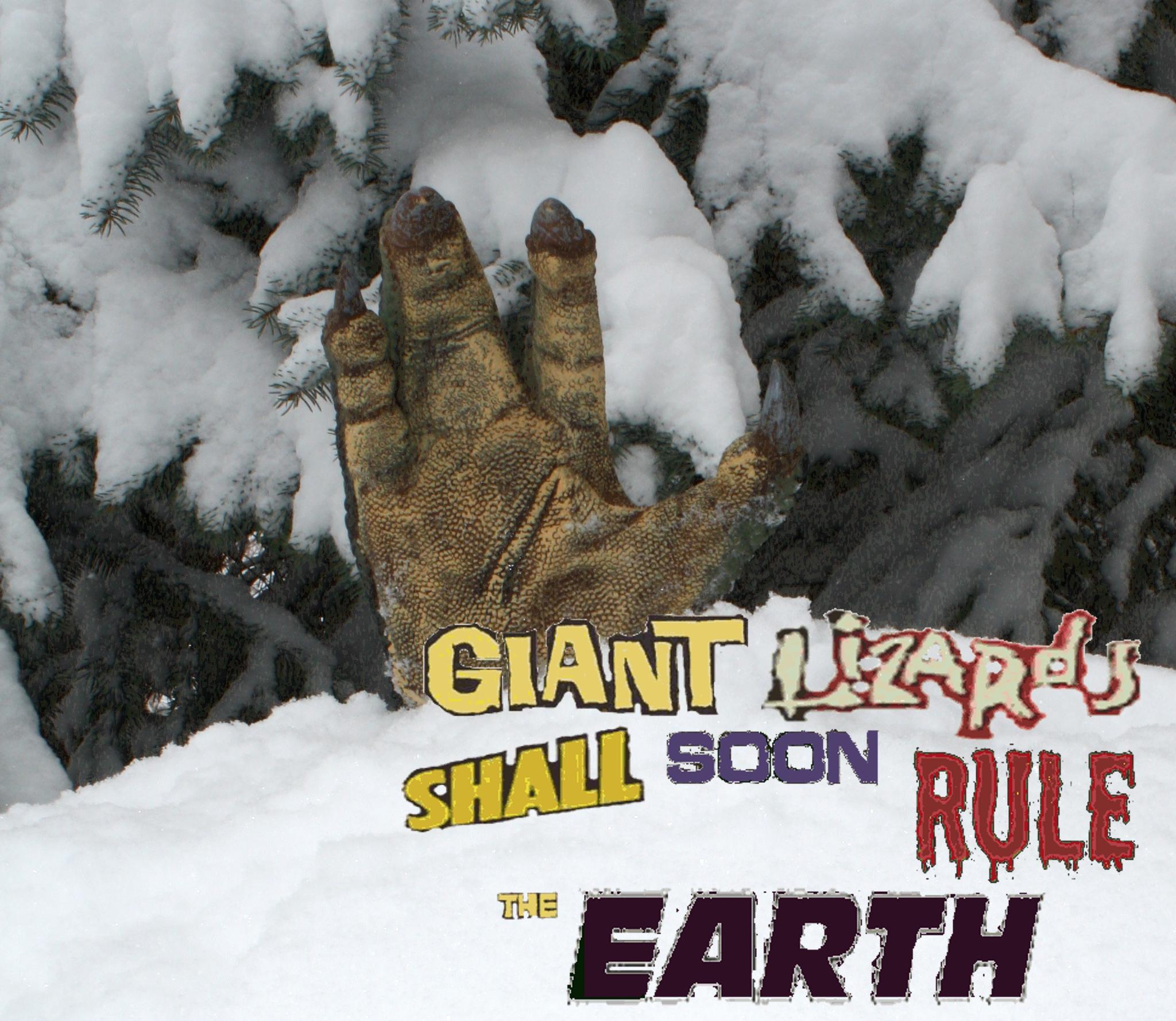 satyricon giant lizards shall soon rule the earth